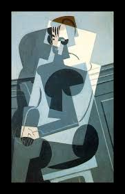 although he did not invent cubism gris was just as important in this movement as picasso and is known primarily for painting in the cubist style