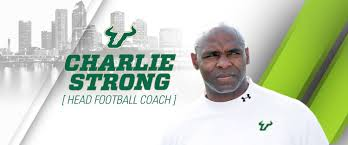 Charlie Strong Named Head Coach Of Usf Football Usf Athletics