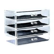 makeup conners organizers acrylic storage box with drawers transpa drawer organizer walmart diy ebay