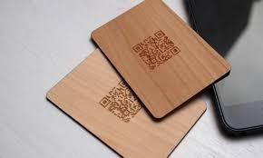 wooden business cards wooden business cards