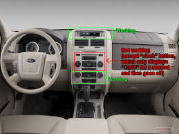 2008 ford escape xlt no power to radio doesn t seem to be a again if there aren t any solutions except to buy a whole new radio that s fine i just wanted to see if anyone had other thoughts