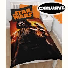 star wars darth vader single duvet cover new 100 official disney merchandise