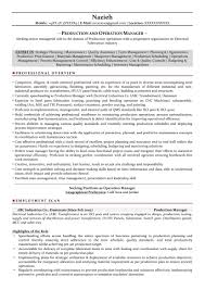 Material Management Resume Sample Production Manager Resume Sample Pdf New Manufacturing Manager