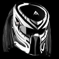 16 best predator helmet custom bandung images
