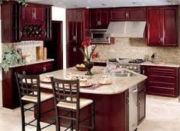 21 best Kitchens light countertop and cherry cabinets images on