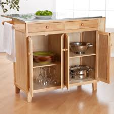 Double Swinging Kitchen Doors Kitchen Table Island Design Wooden Pull Knobs Be Equipped Side Two