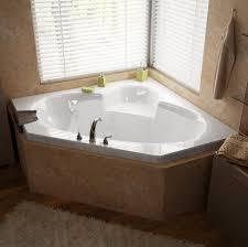 ... Bathtubs Idea, Whirlpool Jet Tub 2 Person Jacuzzi Tub Space Saving  Undermount Corner Bathtub With ...