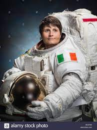 ESA Astronaut Samantha Cristoforetti Stockfotografie - Alamy