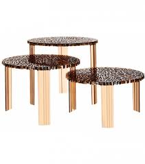 t table coffee table kartell milia with kartell coffee table view 11 of