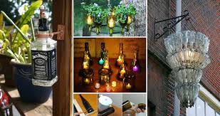 wine bottle lighting. 20 Awesome Ideas How To Make Wine Bottle Lights Lighting