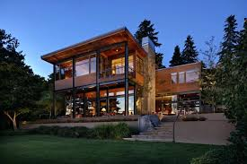 lake front house plans view in gallery grand glass lake house with bold steel frame 1 lake front house plans