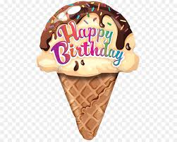 Download Happy Birthday Ice Cream Clipart Ice Cream Cones Sundae