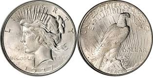 Peace Silver Dollar 1921 To 1935 Us Coin Image Facts Values