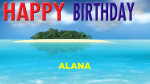 Alana - Card Tarjeta_1475 - Happy Birthday - YouTube