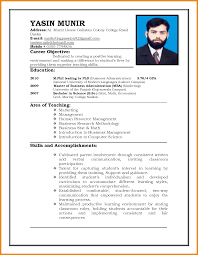Gallery Of Example Of Resume To Apply Job