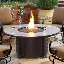 round propane fire pit table and chairs. full image for round propane fire pit table and chairs small