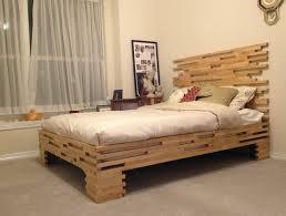 Bedroom Outstanding Wood Bed Frame Queen Designerstyle Inside