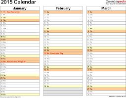 Printable Appointment Calendar 2015 2015 Calendar 16 Free Printable Word Calendar Templates