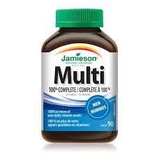 100% <b>Complete Multivitamin</b> for <b>Men</b> – Jamieson Vitamins