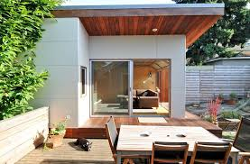 seattle har reveal panel exterior modern with sliding glass door wicker rattan outdoor chaise lounges garage