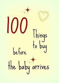 list of items needed for baby 100 things to buy before the baby arrives addingup2bemum
