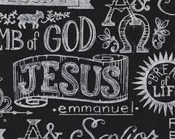 Religious fabric | Etsy &  Adamdwight.com
