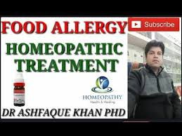 Food Allergy and its homeopathic medicines. - YouTube