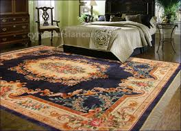 chinese artificial silk rug
