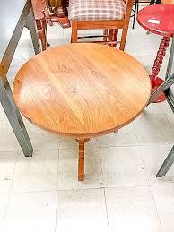 diy pedestal round coffee table