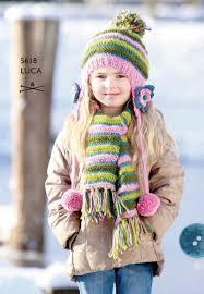 Meisjesmuts en sjaal - Domicasa