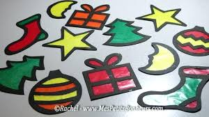 stain glass ornaments stained glass ornament craft