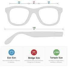 Sunglasses Frame Size Chart Frame Size Fit Guide Gooptic Com