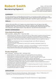 writing an engineering resumes manufacturing engineer resume samples qwikresume