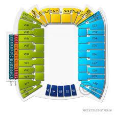 Rice Eccles Stadium Tickets Utah Utes Home Games