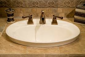 Install Bathroom Sink Impressive 48 Faucet Installation Cost Cost To Replace Kitchen Faucet