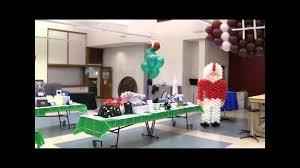 Sports Themed Balloon Decor Balloon Sports Theme Balloon Decorations Birthday Parties Or Other