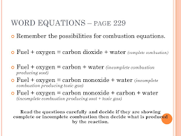 incomplete combustion equation jennarocca