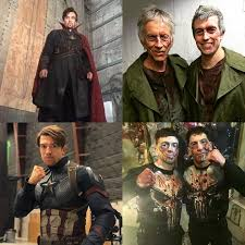Justin Eaton, the stunt double for Doctor Strange, Stick, The Punisher and  Captain America : marvelstudios