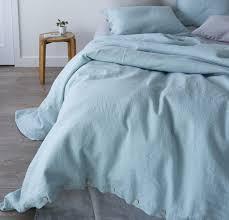 linen duvet cover queen. Rough Linen   Bedding Bedsheets St Barts Duvet Cover Queen King Twin Aqua L