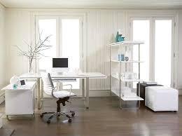 white desk office. Exellent White Contemporary Home Office White Desk 9 On