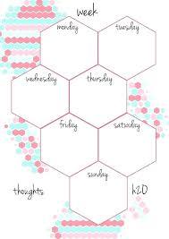 Cute Printable Weekly Planners Free School Planner Organiser 2016