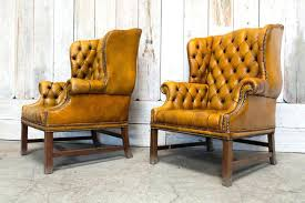 pair of vintage tufted chair tan antiques tufted wingback chair pair of vintage tufted chair tan beige linen tufted chairs futures tufted wingback