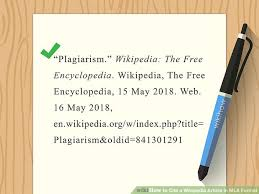 The Best Way To Cite A Wikipedia Article In Mla Format Wikihow
