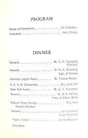 Church Banquet Program Template Harezalbaki Co