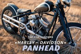 top 5 harley panheads bike exif