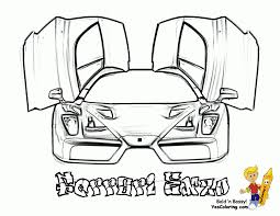 Free Ferrari Italia 458 Coloring Pages Car Pictures To Colour