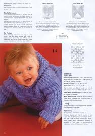 Baby Boy Image Free Download Patons 382 Knitting For Baby Free Download Borrow And