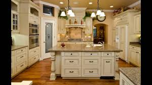 Antique Cream Colored Kitchen Cabinets