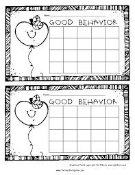 49 Particular Behavior Charts Templates