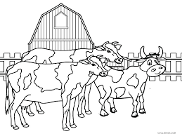 Farm Animals To Color Barn Animals Coloring Pages Farm Animal